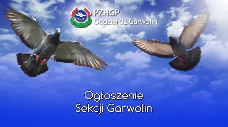 Ogłoszenie Sekcji Garwolin
